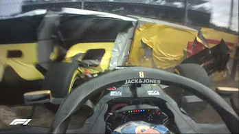 Grosjean a falban, Vettel a sóderben kötött ki a második amerikai edzésen