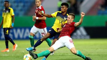 U17-es vébé: a magyar válogatott kikapott Ecuadortól, kiesett