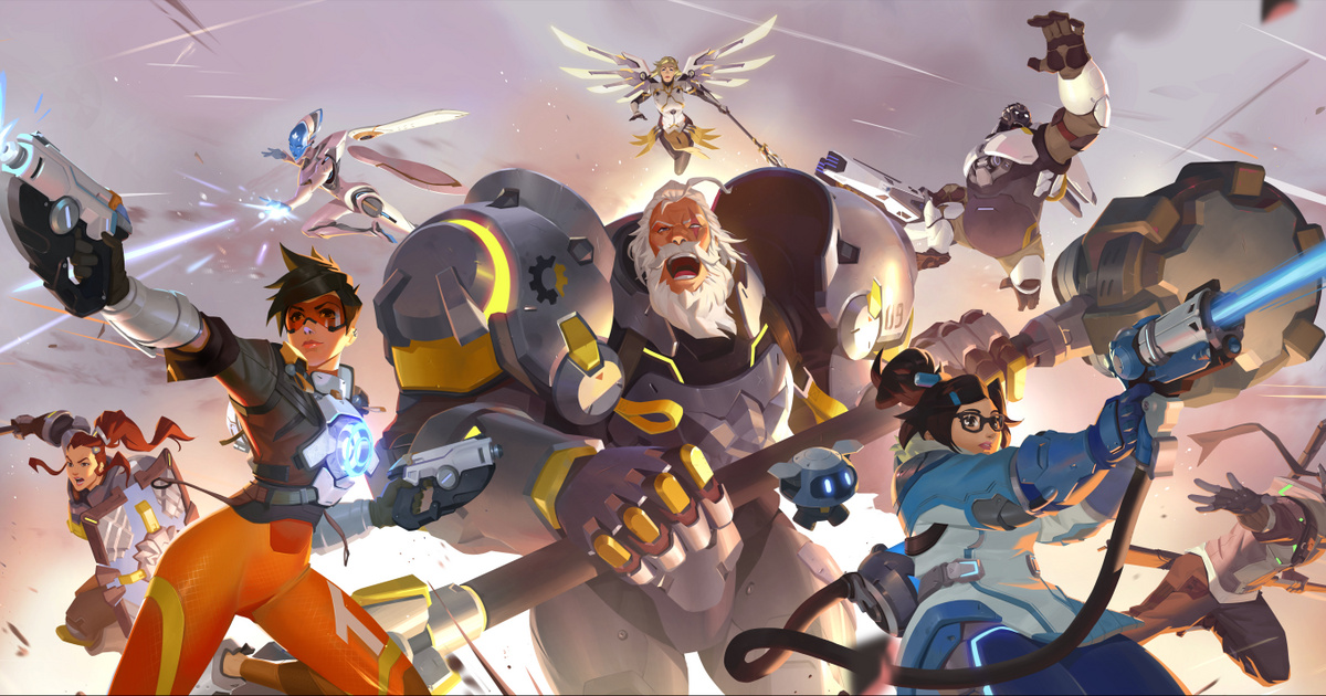 OW2 Blizzcon 2019 Illustration Stand Together png jpgcopy