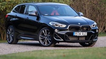 Teszt: BMW X2 M35i - 2019.