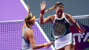 Babosék döntősök, meglehet a címvédés a WTA-vb-n
