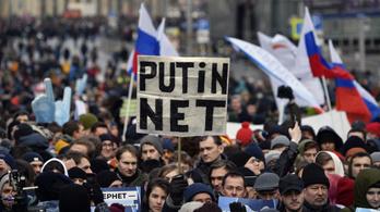 Életbe lépett az orosz internet totális állami ellenőrzését lehetővé tévő törvény