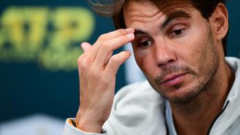 Nadal percekkel a kezdés előtt adta fel a párizsi elődöntőt