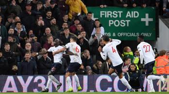 A 94. percig izgulhatott a Liverpool