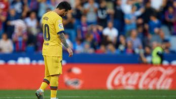 Hét perc alatt kapott hármat, kikapott a Barcelona