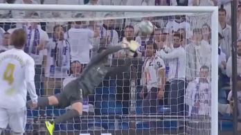 Courtois nyújtózása nagyon kellett a Real Madridnak