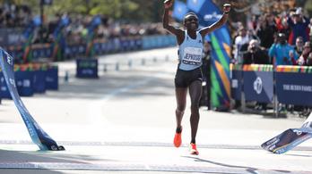 Élete első maratonján majdnem megdöntötte a New York-i pályacsúcsot