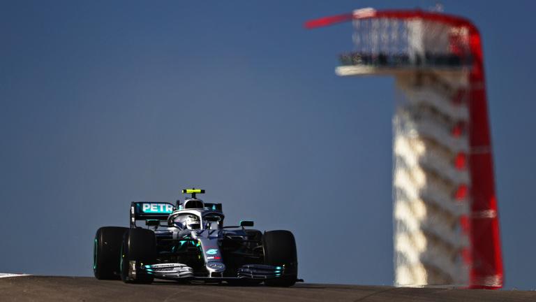 Bottas visszalőzve nyerte az Amerikai GP-t, Hamilton hatszoros világbajnok