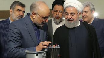 Irán két hónap alatt megtízszerezte dúsítotturán-készletét