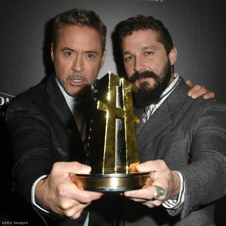 Két legenda egy díjjal: Robert Downey, Jr