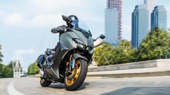 Itt az új Yamaha Tmax