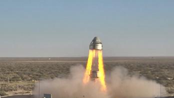 Egy ejtőernyő nem nyílt ki, de sikeres volt a Boeing-űrjármű mentőrendszerének tesztje