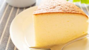 Isteni japán sajttorta csak 3 összetevőből: a népszerű 日本のチーズケーキ