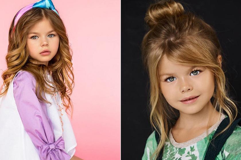 Az internetezők szerint ő a világ legszebb kislánya: a hatéves modell szépségével mindenkit elkápráztat