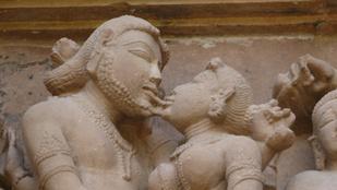 A történelem első csókjelenete 3500 éves, de a fél világ ma sem csókolózik
