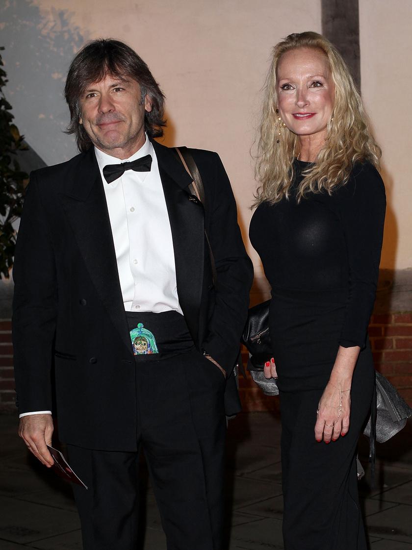 Bruce Dickinson és felesége, Paddy közel 30 évig éltek házasságban.