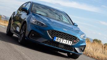 Teszt: Ford Focus ST - 2019.