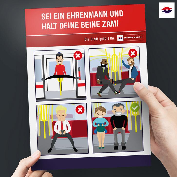 Plakat Spreading Foto WienerLinien