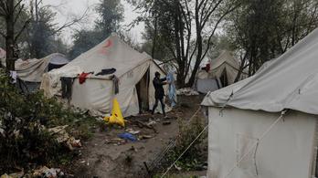 Iszonyú körülmények vannak egy boszniai menekülttáborban, az EU bezáratná