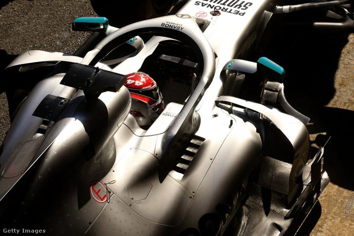 A Mercedes rendkívül kifinomultra tervezett légterelői a csapat 2019-es autóján