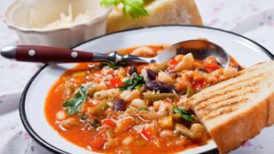 """Olaszul minestrone, magyarul """"mindent bele""""!"""
