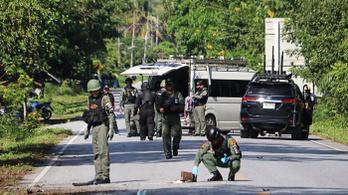 Muszlim lázadók gyilkoltak Thaiföldön