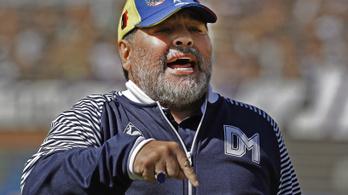 Diego Maradona szerint ő egyáltalán nem haldoklik