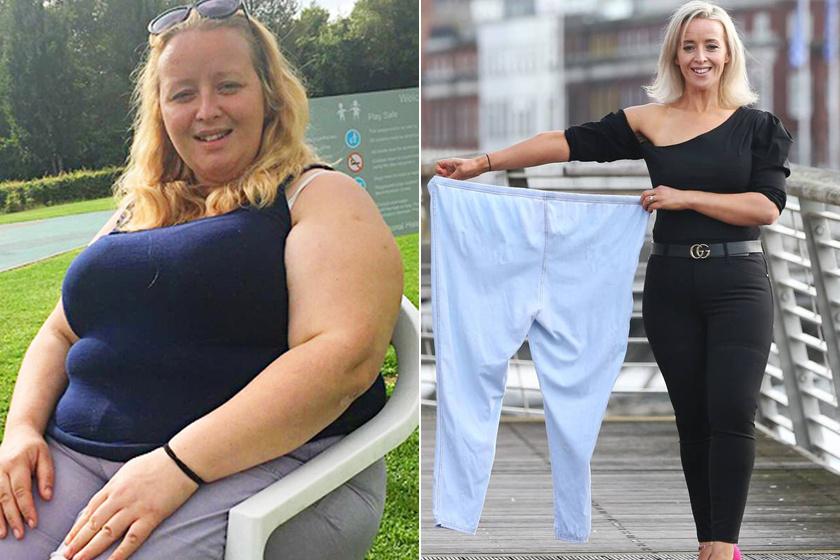 A 36 éves anyukának teljes életmódváltással három év alatt 60 kilót sikerült leadnia. Az autót futásra cserélte, és az edzőtermet is heti háromszor látogatta. Állítja, három hónap alatt az összes egészségügyi gondja is megszűnt, és ma már tökéletesen elégedett azzal, amit a tükörben lát.
