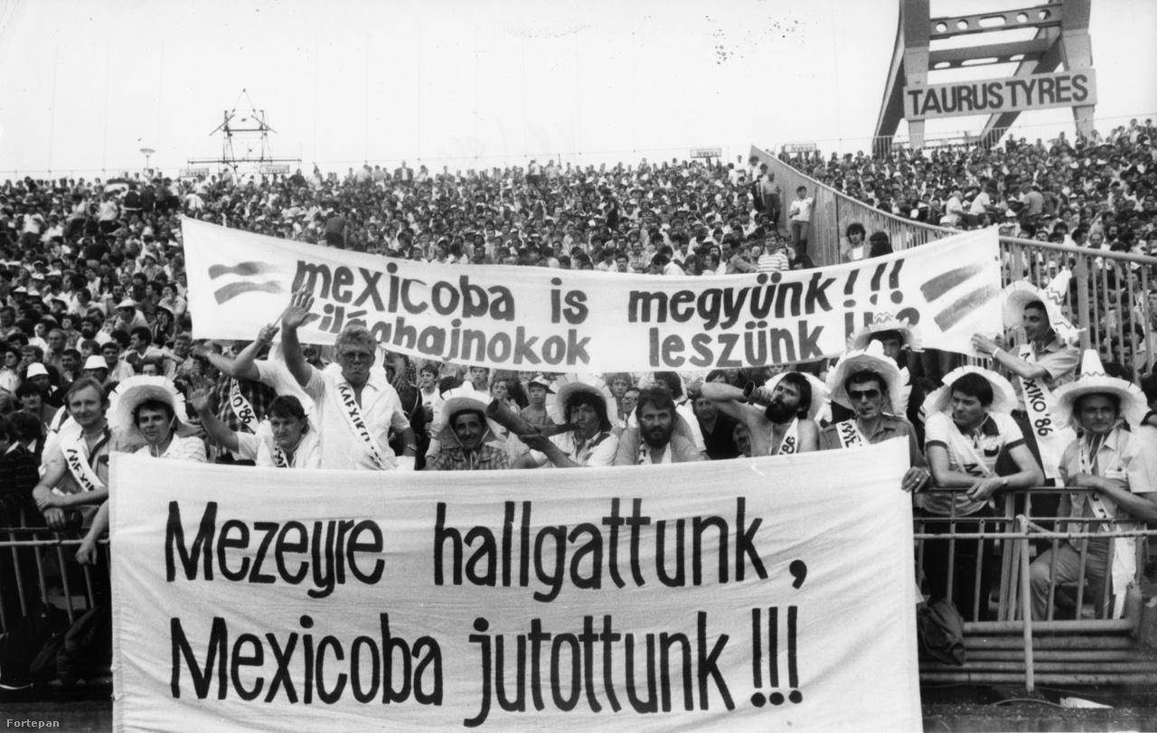 A magyar futball utolsó fellángolása a nyolcvanas évek végén volt, amikor a Mezey György irányította válogatott az elsők között jutott ki Európából az 1986-os, mexikói világbajnokságra. A vb előtt a magyar válogatott barátságos meccsen 3-0-ra győzte a brazilokat, és az egész ország egy különleges és sikeres szereplést várt a válogatottól Mexikóban. Ebből a különleges sikerült, a sikeres már kevésbé. A válogatott következő nagy tornájára 30 évet kellett várni, azonban a 2016-os Európa-bajnokságra már nem a bontás alatt álló Népstadionból jutott ki a Magyar csapat.