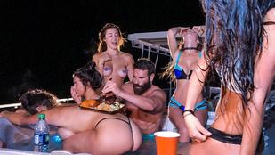 Dan Bilzerian a szokásos pornóherceg stílusban ünnepelt