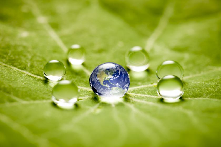 környezettudatos víz