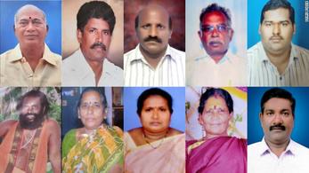 Cianiddal mérgezett meg tíz embert egy indiai férfi