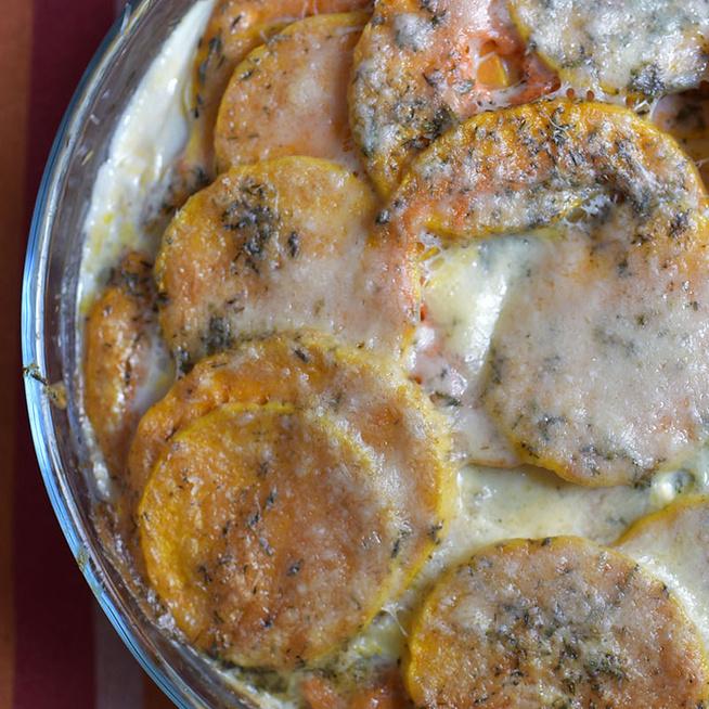 A legkrémesebb formája kedvenc téli zöldségünknek - Csőben sült sütőtök