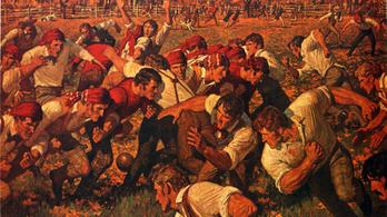 150 éve játszották az első amerikaifutball-meccset, vagy valami olyasmit