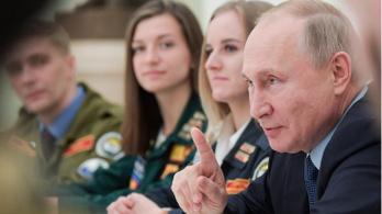 Putyin: Nem fenyegetésként mondom, de párját ritkító fegyverekkel rendelkezünk