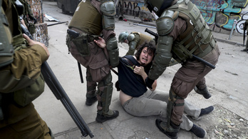 Kivizsgálnák a rendőri túlkapásokat a chilei tüntetéseken