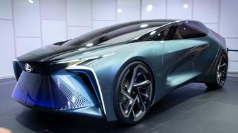 Tuti már, hogy 2030-ban ilyen lesz egy Lexus