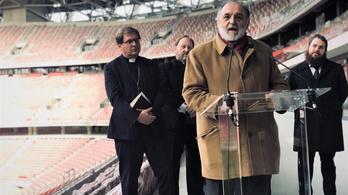 Öt egyház mondott áldást a Puskás-stadionra