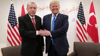 Erdoğan a jövő héten Trumppal találkozik Washingtonban