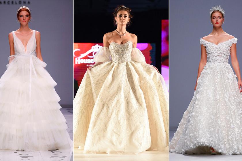 Íme, a legdivatosabb menyasszonyi ruhák 2020-ban: eltűnnek a letisztult vonalak