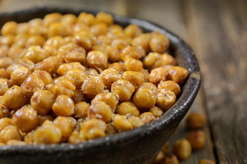 csicseriborsó snack recept