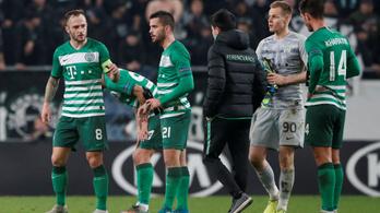 Kiizzadt egy pontot a Ferencváros a CSZKA ellen az EL-ben