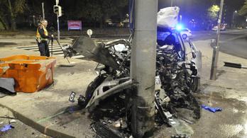 Halálos baleset Újpesten