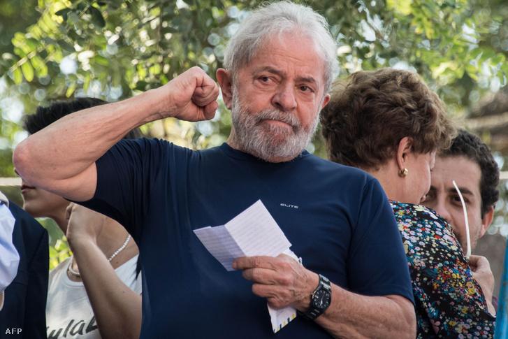 Luiz Inácio Lula da Silva 2018-ban