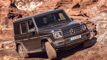 Elektromos G osztályt ígér a Mercedes