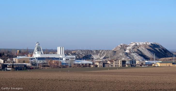 A Teutschenthalban lévő bánya
