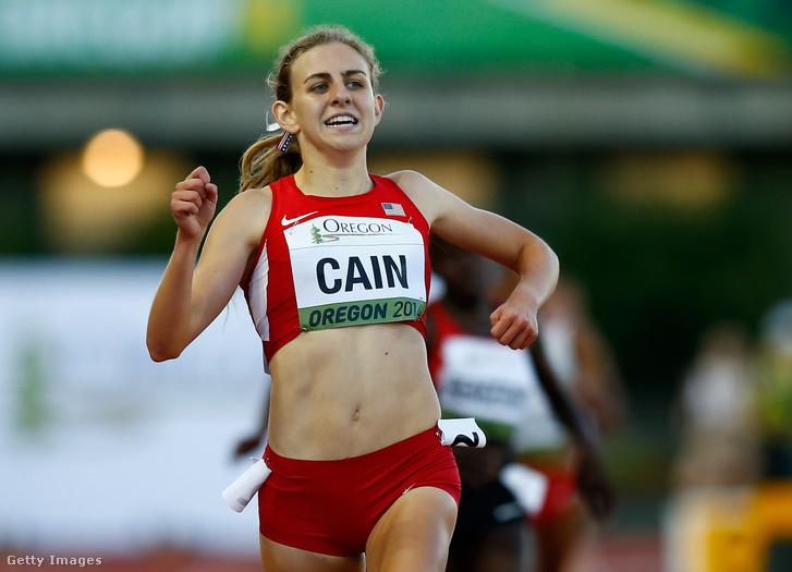 Mary Cain a 2014-es junior atlétikai világbajnokságon