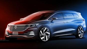 Nézzék, ilyen lesz a hétüléses luxus-VW