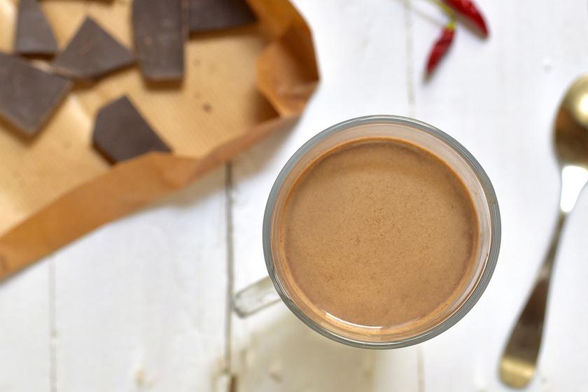A forró és csípős csokoládé a legjobb dolog, ha átfáztál