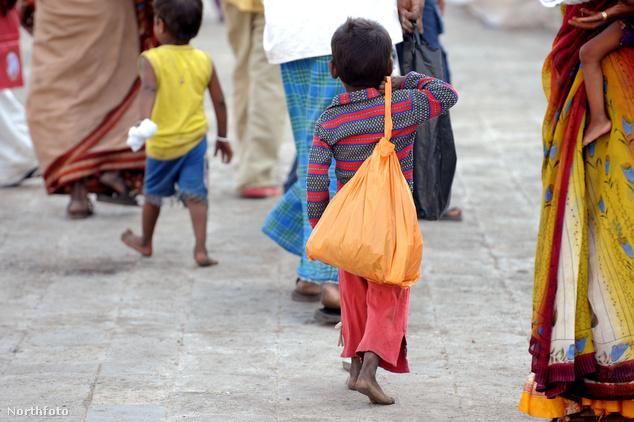 Gyerekek Mumbaiban